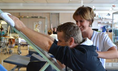 Service de médecine physique et réadaptation du GHdC